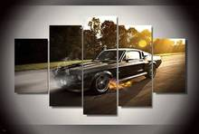 Hd Printed Ford Mustang Shelby Gt350 Painting On Canvas Room Decoration Print Poster Picture Canvas Free Shipping/90846(China)