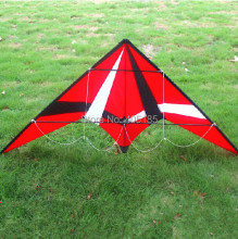 Outdoor Fun Sports 1.8m Red  Professional  Dual Line Stunt  Kite With Flying  Tools Free Shipping