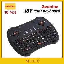 10pcs/DHL Free Wholesale i28/i8 V Mini Keyboard 2.4G Wireless Handheld Touchpad Air Mouse for Android TV Box/Tablet/ Laptop/iPad