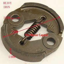 Free shipping 40-5 Steel Heavy Duty Clutch For 33cc 43cc 49cc Gas Petrol Scooters Super Pit Dit Bikes X1 X2 X6 X7 X8 Parts