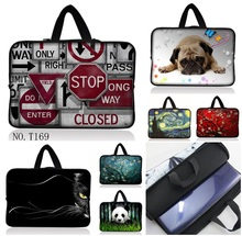 "New 10.6"" 12 13 14 15 17.3 Notebook 11.6/12.1/13.3/15.6 inch Soft Neoprene Laptop Sleeve Case for Men Women Computer Bag Cover"