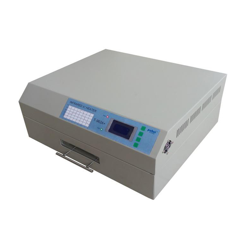 PUHUI T962A+ Desktop Reflow Oven 220V 2300W Infrared IC Heater Computer Temperature control 350mmX400mm BGA Reflow Wave Oven(China)