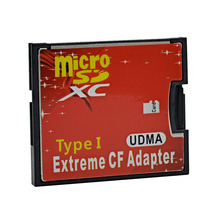 MJTEK High Quality Micro SD TF to CF Card Adapter MicroSD Micro SDHC to Compact Flash Type I Memory Card Reader Converter