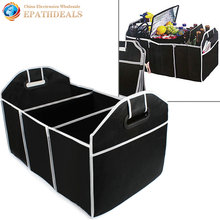 Collapsible Car Trunk Organizer Toys Food Storage Container Bags Truck Cargo Box Auto Styling Interior Accessories Supplies Gear(China)