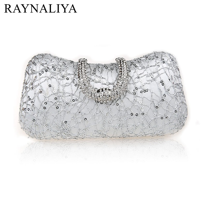 Luxury Crystal Bag Handmade Style Rhinestones Pearl Women Evening Bags Vintage Satin Lady Party Wedding Cluthes Smysfx-e0263<br>