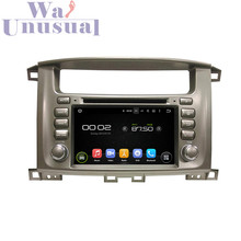 "7""Android car DVD player for Toyota Lander Cruiser 100 (1998-2007) with GPS+WIFI+BT+3G+DVR+TV+Mirror Link+Quad Core+freeshipping"