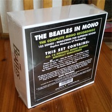 The beatles In Mono Box Set 13CD Disc Se white box limited edition music cd brand new factory sealed free Shipping(China)