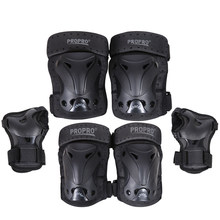 Set Ski Skating Protective Gear Set Elbow pads Bicycle Skateboard Ice Skate Roller Knee Protector For Adult Kids Gift HOT(China)