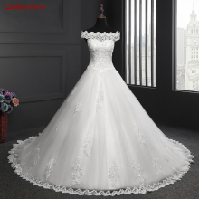 Buy Elegant Lace Wedding Dresses Tulle Beaded Sequin Wedding Gowns Weding Bridal Bride Dresses Weddingdress vestido de noiva for $159.30 in AliExpress store