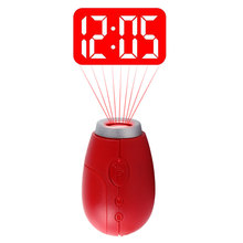 Digital Projection Clock LED Portable Clocks Mini Clock With Time Projection Digital Watch Night Light Magic Projector cloc(China)