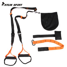 Gym Total Body Straps Suspension Trainers Fitness cross fit Resistance Bands Home equipment Hanging strength Suspension Trainer(China)
