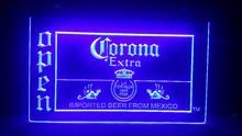 Corona Beer OPEN shop 3d signs Bar LED Neon Sign