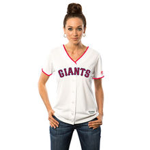 MLB Women's San Francisco Giants White Fashion Stars & Stripes Cool Base Jersey