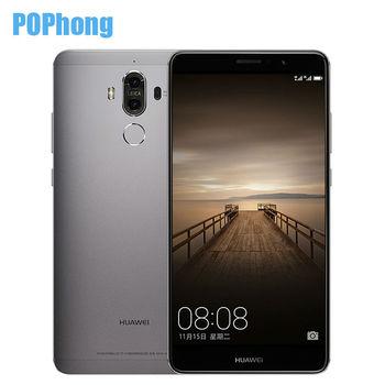 Stock Original Huawei Mate 9 Android 7.0 Cell Phone 4GB RAM 32GB ROM 5.9 inch Octa Core Kirin 960 Dual Rear Camera 20.0MP+12.0MP