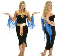2017 New Adult Womens Sexy Halloween Party Arab Belly Dancing Costumes Outfit Fancy Greek Goddess Cosplay Dresses