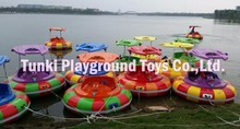 amusement electric adult inflatable bumper boat(China)