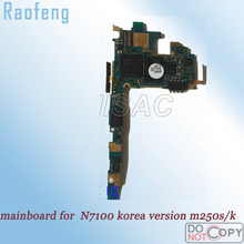 Raofeng High quality motherboard For Samsung Galaxy S2 m250s/m25k i9100 Korea Version & Unlocked Mainboard well worked(China)
