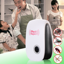Electronic Ultrasonic Rat Mouse Repellent Anti Mosquito Repeller Killer Rodent Pest Bug Mole Reject(China)