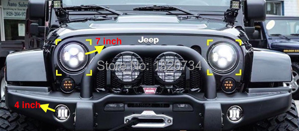 headlight for jeep 7