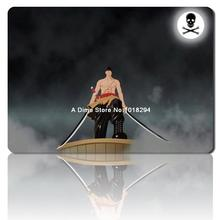 one piece mouse pad Roronoa Zoro Battle mousepad laptop anime mouse pad gear notbook computer gaming mouse pad gamer play mats(China)
