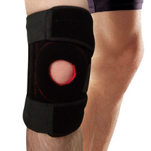 YD Elastic Knee Pads Sport Support Kneepad Brace Adjustable Cycling Knee Leg Guard for Basketball Skating Knee Protector Free(China)