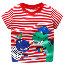 Buy Baby Boy Tops Children T shirts Fille 2018 Brand Kids Summer T-shirt Boys Clothes Animal Cotton Clothing Boys Tee Shirt ) for $6.13 in AliExpress store