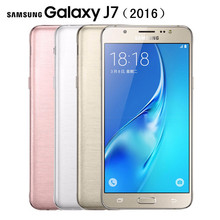 Original Unlocked Samsung Galaxy J7 J7108(2016) 5.5 Inch 3GB RAM 16GB ROM LTE 4G 13MP Camera Octa Core FDD/TDD NFC Mobile Phone(China)