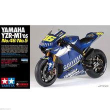 1/12 Scale Motorcycle Model Kit YZR-M1 No.46 No.5 MOTO GP 2005 assembly model kits scale car model building kit Tamiya 14116