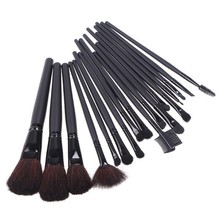 wholesale excellent makeup beauty brush set 18pcs / pack Professional DIY Cosmetics Brushes 50sets/lot free DHL/EMS/UPS shipping