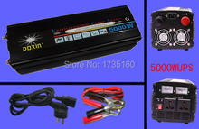 Real 5000Watt + Peak 10000W +20A Charger Doxin Car Power Inverter 5000W UPS Power 12V DC To 220V AC Modified Sine Wave 5000 Watt