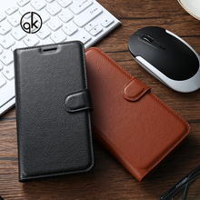 Buy Flip PU Leather Cases Doogee Homtom HT17 Litchi Pattern Case Back Cover Doogee Homtom HT17 5.5 INCH Phone Bags Holsters for $3.93 in AliExpress store