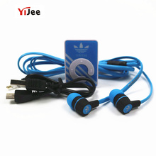 YiJee Portable Mini MP3 Music Player MP3 Clip Support 32G Micro SD Card Slot with Stereo Earphone Micro USB Charging Cable