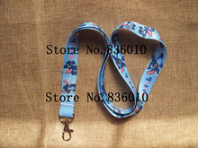 Hot Sale! 10 pcs Popular Stitch  Key Chains Mobile Cell Phone Lanyard Neck Straps    Favors SZ-210