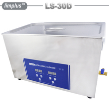 Limplus 30L Digital Ultrasonic Cleaner Industrial Ultrasonic Washing Machine Stainless Steel Cleaning Golf Club