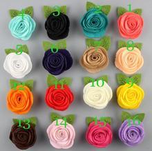 2 inch  Felt Flower Diy Flower For Girls Hair Accessories Headband Hairband Hair Clip 26Colors 120Pcs Free Shipping