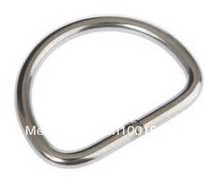 wholesale by 200PCS/16KGS/Carton M8X50X47 forged and welded AISI 316 stainless steel d ring