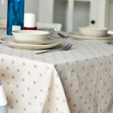 2016 Country Style Tablecloth High Quality Small Flower Printed Decorative Table Cloth Rectangular Floral toalha de mesa