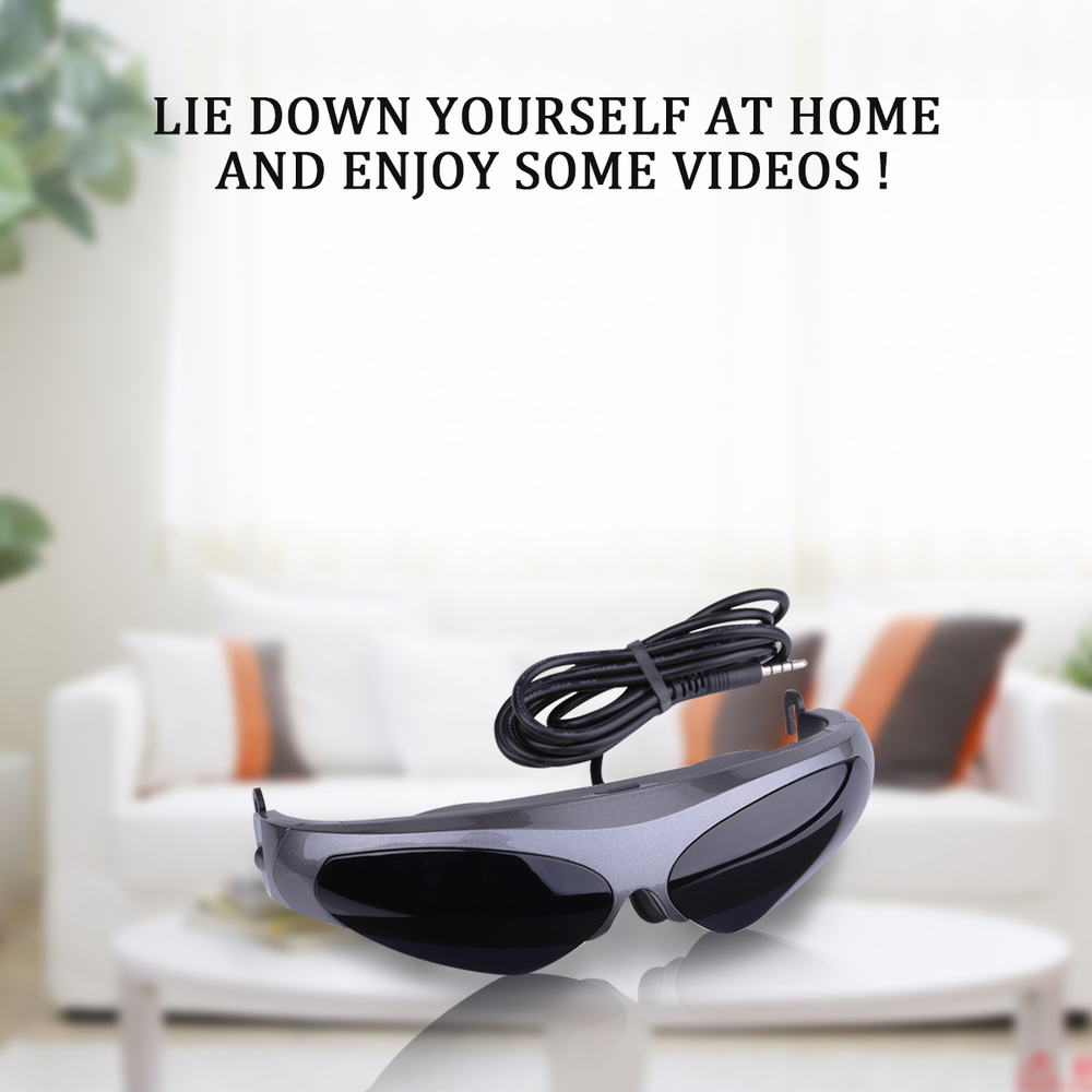Excelvan 922A 2D Virtual Reality Video Glasses 80inch HD Screen 640*480 Resolution FPV Goggle For Multicopter Drone