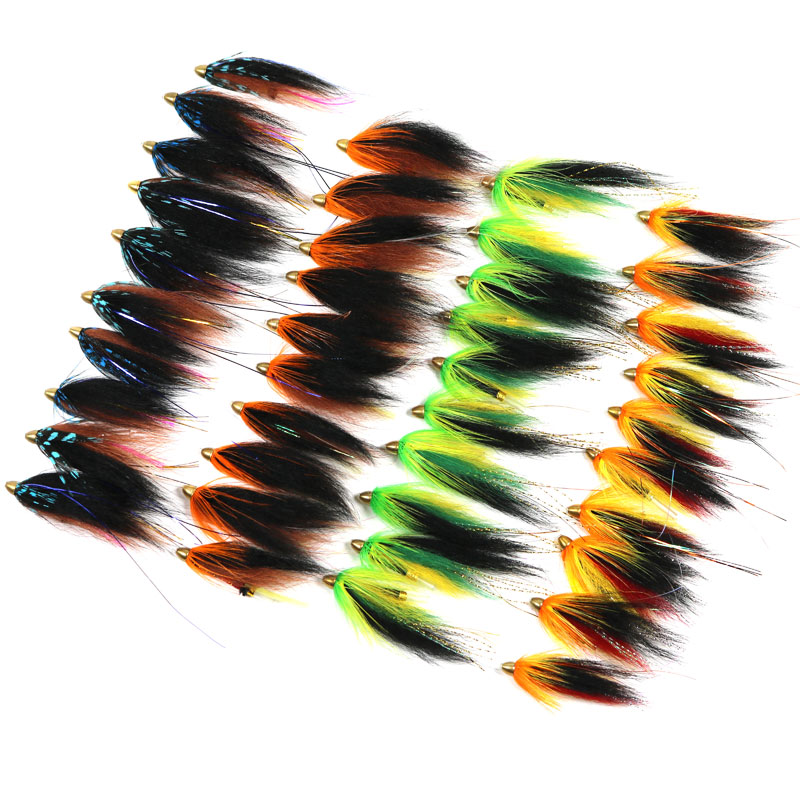 Wholesale 3 combinations 4  Assorted Color handmade tube fly flies Combo And Sea Trout Fly Fishing Lures<br><br>Aliexpress