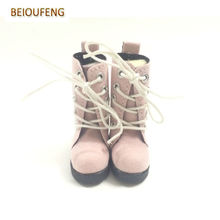 Fashion 1/6 BJD Doll Shoes 5 CM Toy Shoes for BJD Dolls,Mini Doll Boots 1/6 Scale Accessories for BJD Dolls 12 Pair/Lot(China)