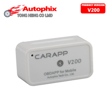 100% Original AUTOPHIX CARAPP V200 OBD2 For Mobile Mini Smart Car Trip Computer CARAPP V200 Work With IOS/Android Dual-System