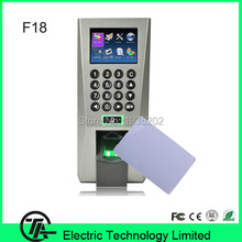 IC Access Control And Time Attendance With Fingerprint Reader or Fingerprint sensor F18 Fingerprint  Recognition Door Lock