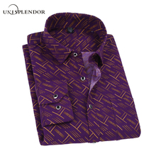 2017 Plaid and Line Print Man Casual Shirts Classic Men Dress Shirt Long Sleeve Slim Fit Fashion Spring Clothes For Male YN10033(China)