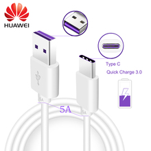 Huawei P10 Plus Cable Type C Cable Mate 9 Supercharge Fast Charging USB C Cable 3.1 Mobile Phone Type-C Cables USB 3.1