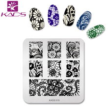 Buy KADS Hot Sale Nail Art Template Nail Stamping Stamp Plates Nail Polish Print Stencils Beauty Manicure DIY Decoration Tools for $2.50 in AliExpress store