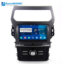 Android 4.4 Explorer DVD GPS Navigation For Ford Explorer 2012+ HD Screen Car Stereo Radio DVD GPS Navigation Media Device