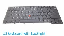 Laptop keyboard for Lenovo For Thinkpad T440 E431 T440S T431S E440 T450 T460 English US TI Spain SP TW 04Y0858(China)