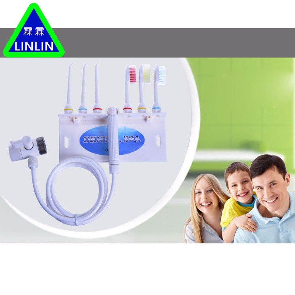 LINLIN High Quality Dental Water Floss Oral Irrigator Jet Interdental Brush Tooth For Teeth Toothbrush Teeth Whitening<br>