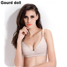 Plus Size 34-40 Cotton Breast Feeding Maternity Nursing bras prevent sagging for pregnant women soutien gorge Nursing underwear