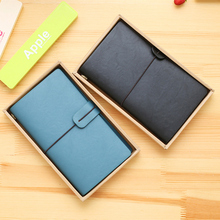 48K PU Leather Cover Office Stationery Hardcover Notebook Periodical Planner Bandage Sketchbooks Notebooks for Agenda Diary